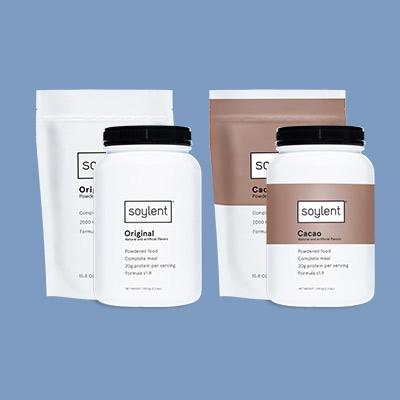 Soylent Powder Pouch.